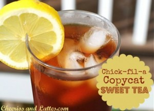 Cheerios and Lattes - Sweet Tea Ten Ways on Alldonemonkey.com