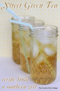 Country Chic Cottage - Sweet Tea Ten Ways on Alldonemonkey.com