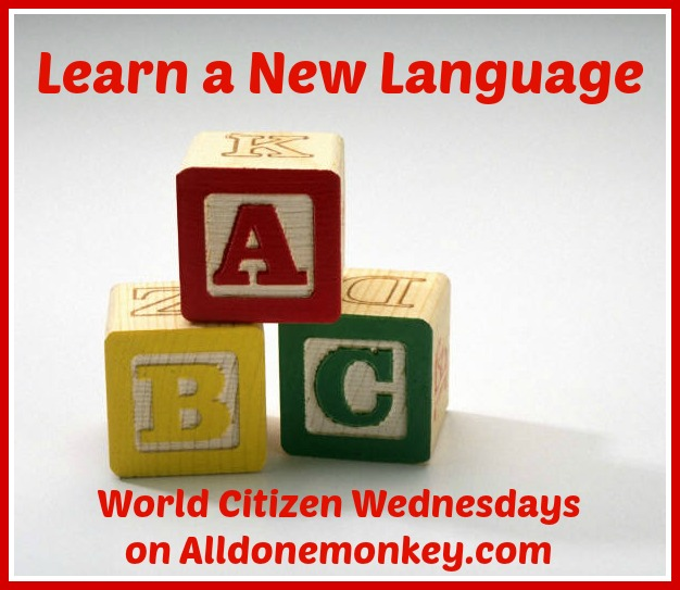 how to learn a new language: