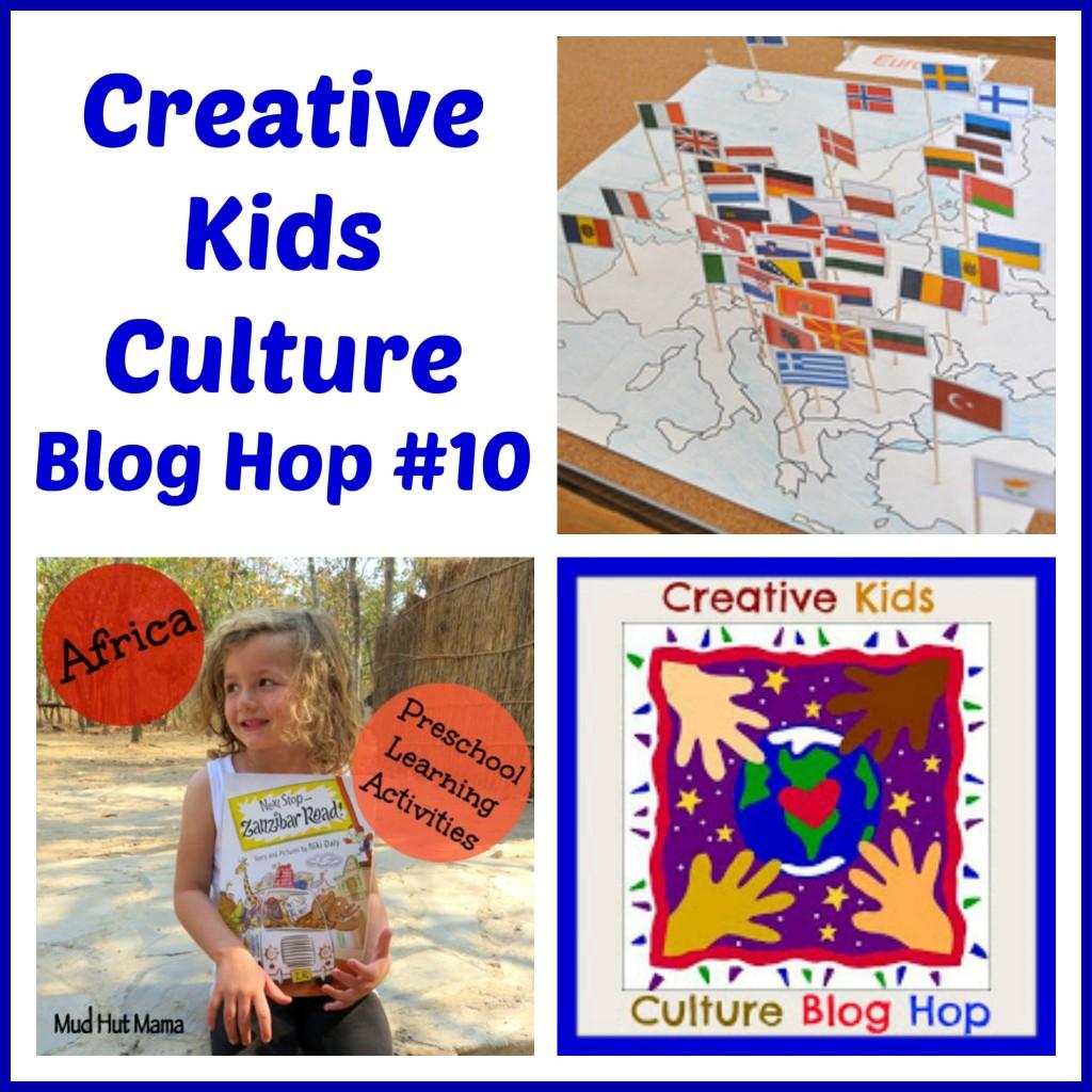 Creative Kids Culture Blog Hop #10 - Alldonemonkey.com