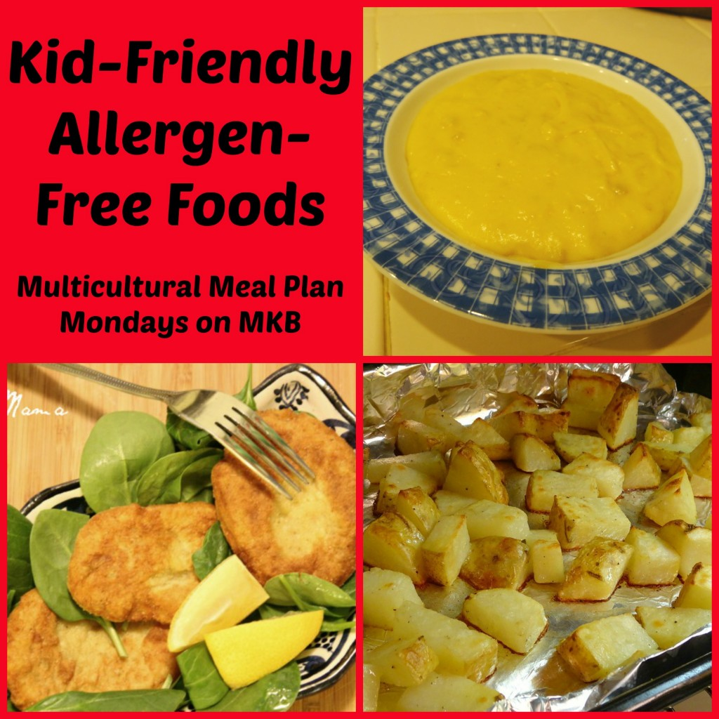 Kid-Friendly Allergen-Free Foods: Multicultural Meal Plan Mondays on Multicultural Kid Blogs