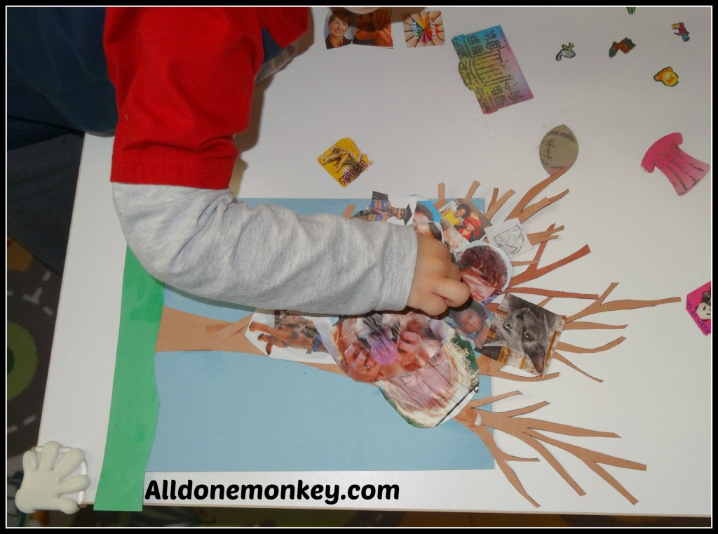 Make a Unity Tree for Birth of Baha'u'llah - Alldonemonkey on Kid World Citizen