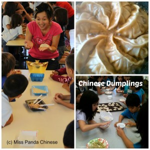Making Traditional Chinese Dumplings - Miss Panda Chinese on Creative Kids Culture Hop - Alldonemonkey.com