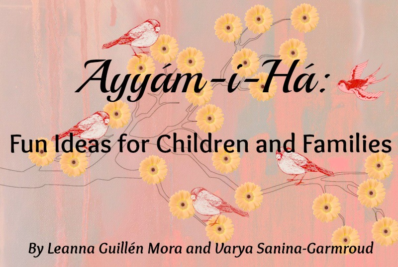 Purchase Our Ayyam-i-Ha Fun Book