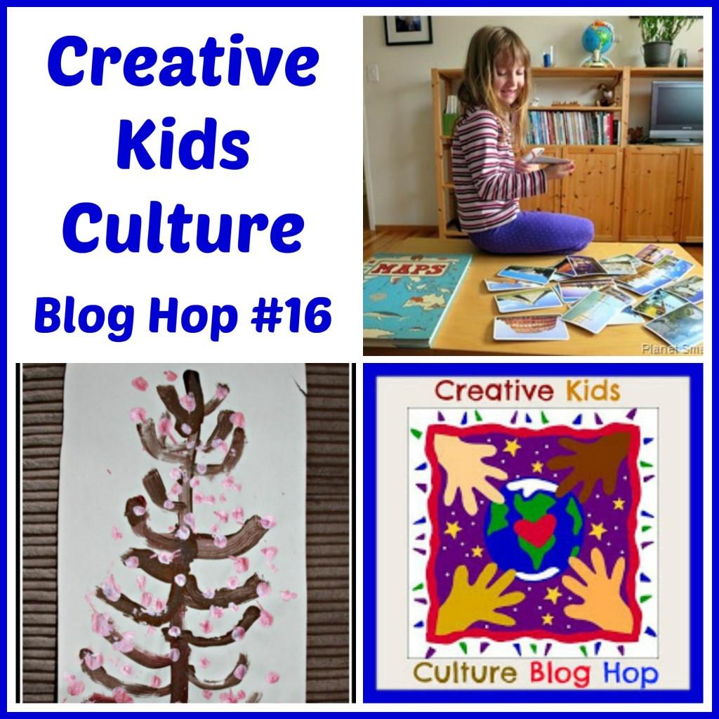 Creative Kids Culture Blog Hop #16 - Alldonemonkey.com