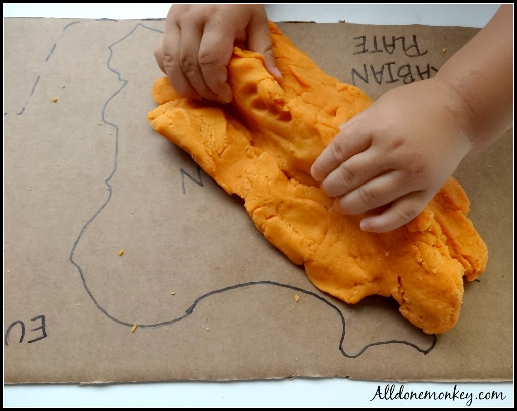 Geology Activity: Learning about Iran's Tectonic Plates with Play Dough - Alldonemonkey.com