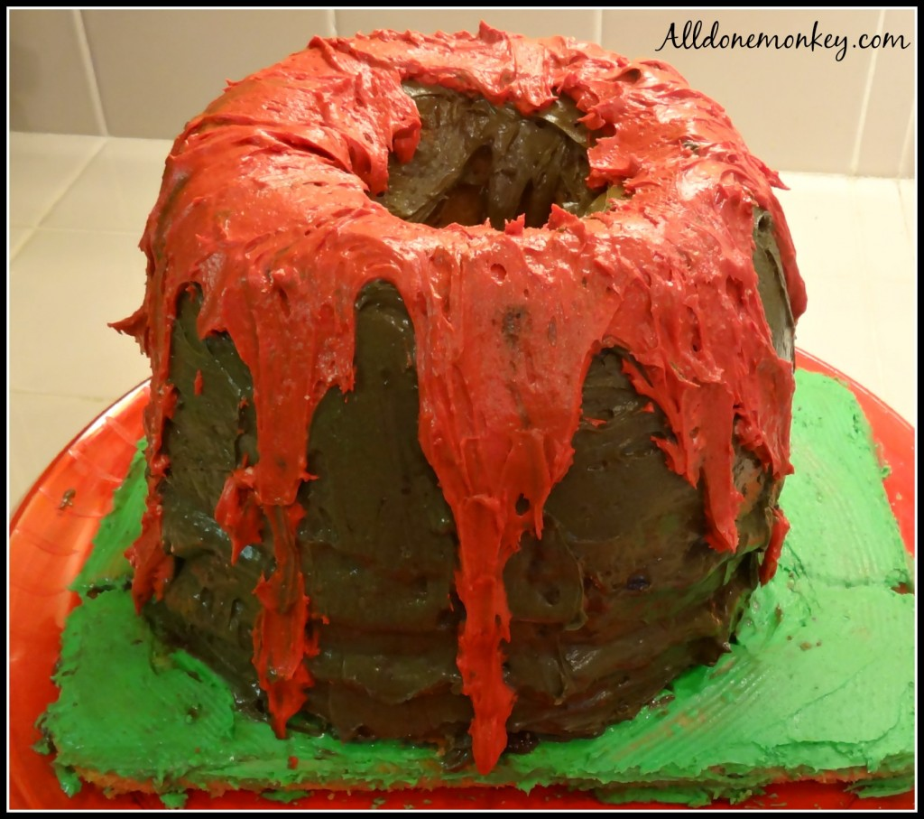 Volcano Birthday Party - Alldonemonkey.com