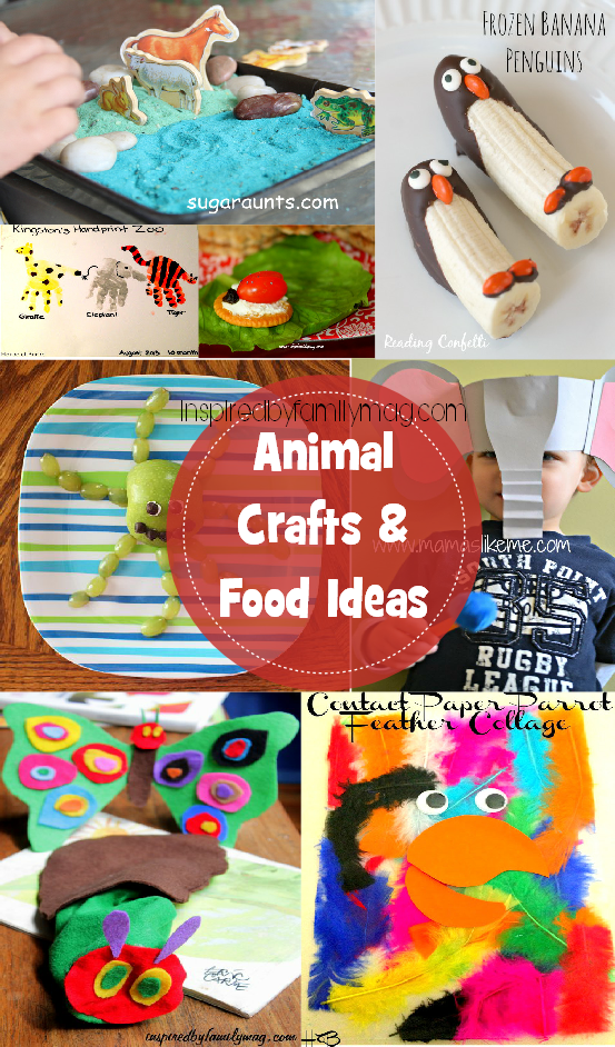Animal Crafts - Inspired by Familia