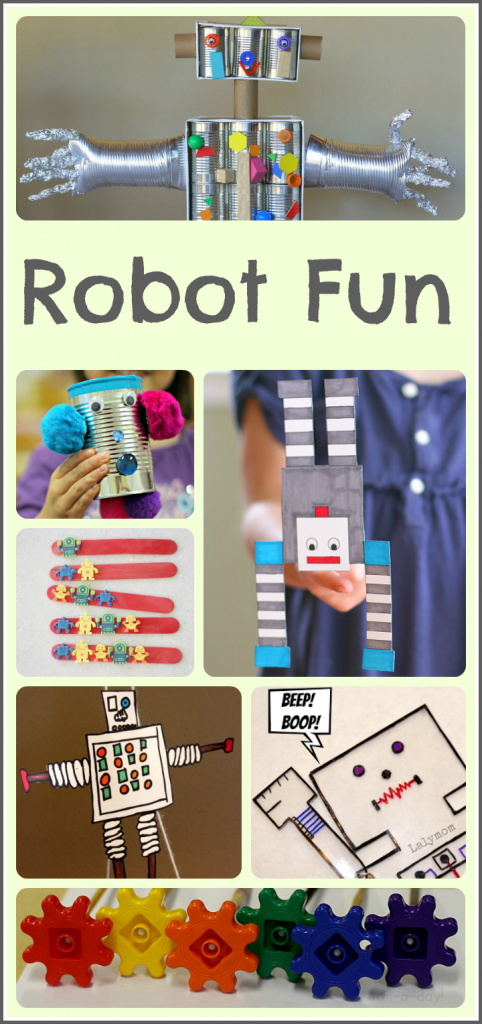 Robot Activities Kids Will Love - Fun A Day