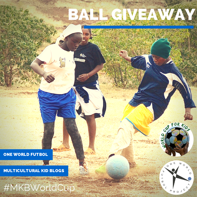 MKB One World Futbol World Cup Giveaway- Help Us Donate to Youth in Needy Communities