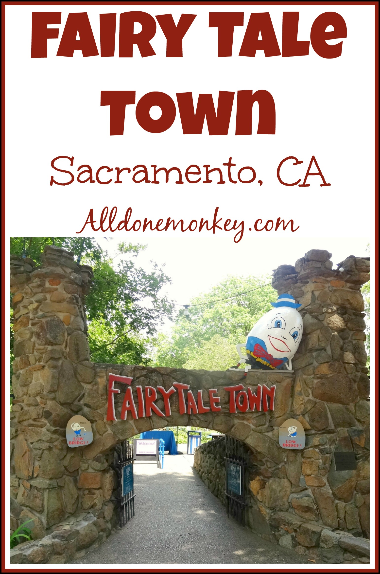 Places To Visit With Kids In California Fairy Tale Town