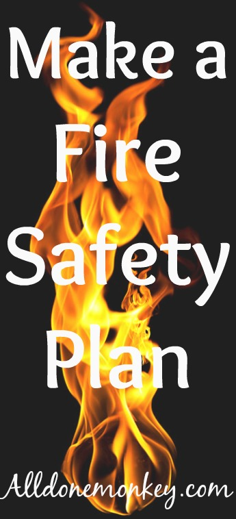 Fire Safety for Kids: Make a Fire Safety Plan | Alldonemonkey.com