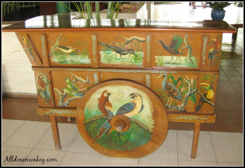 Costa Rica Craft: Carretas {Hispanic Heritage Month Blog Hop} | Alldonemonkey.com