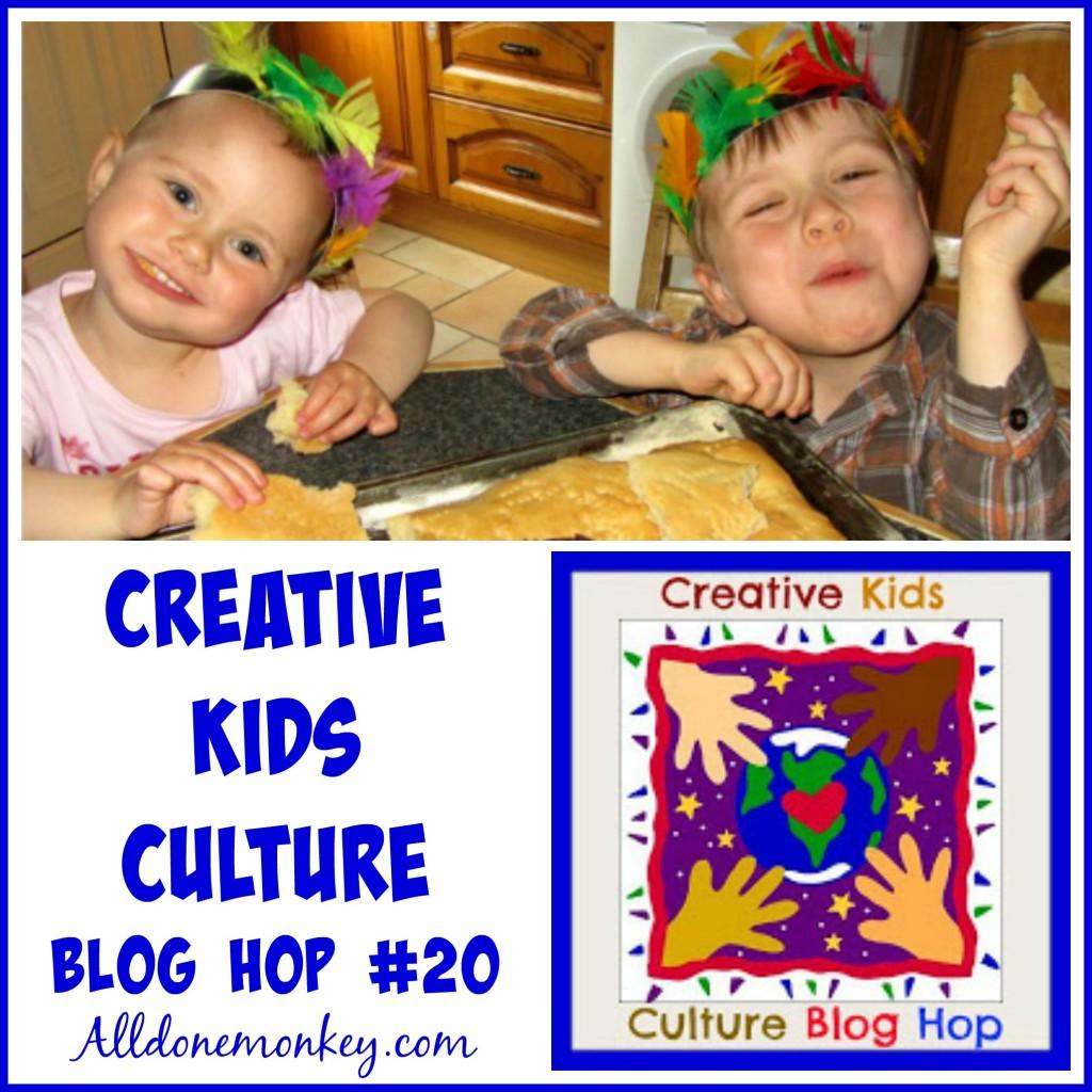 Creative Kids Culture Blog Hop #20 | Alldonemonkey.com