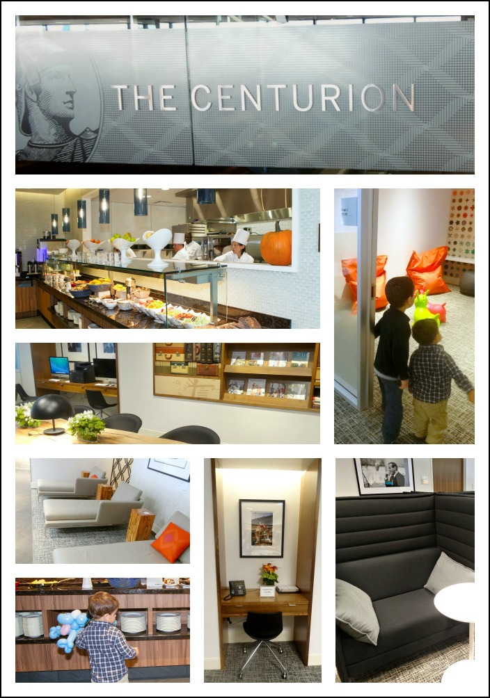 Family Travel Oasis: The Centurion Lounge at San Francisco International Airport from American Express | Alldonemonkey.com