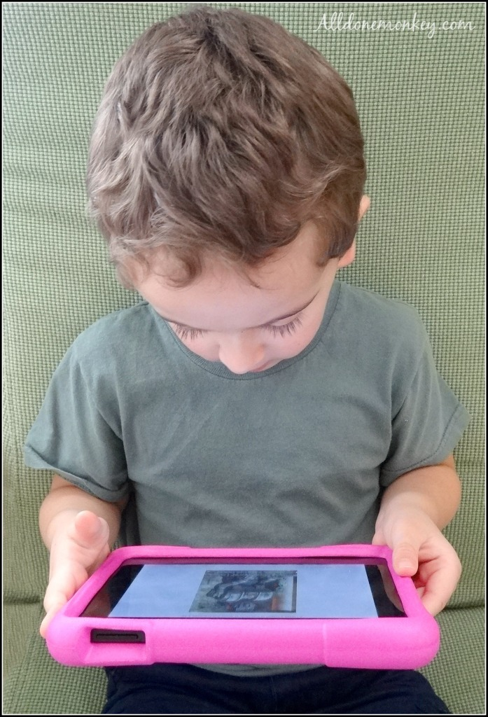 Fun and Educational Gift for Kids: Amazon Fire HD Kids Edition Review | Alldonemonkey.com