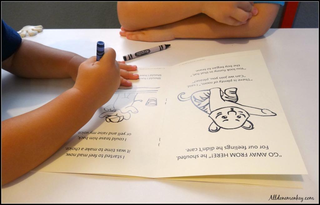 Character Building Activity Kits: Happy Heart Kid   Alldonemonkey.com