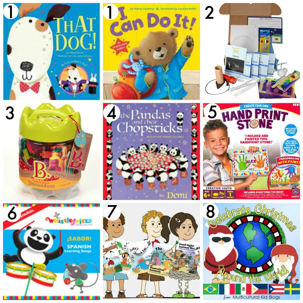 All Things Kids Christmas Giveaway Prizes