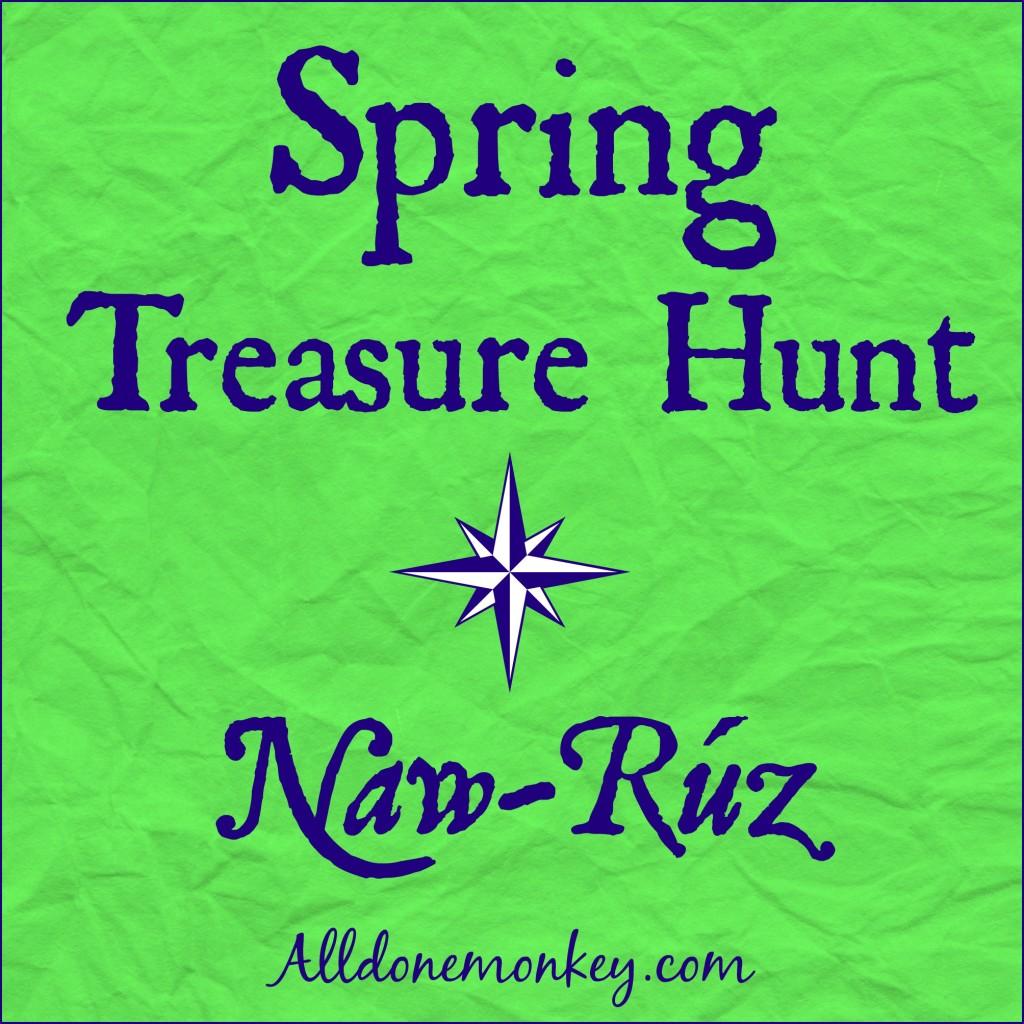 Spring Treasure Hunt {Naw-Ruz} | Alldonemonkey.com