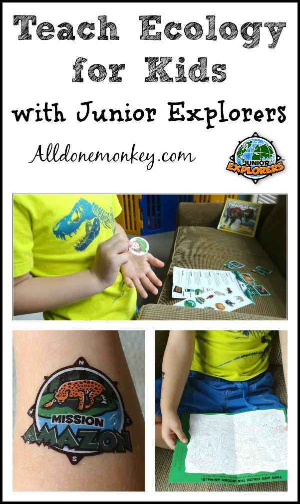Teach Ecology for Kids with Junior Explorers