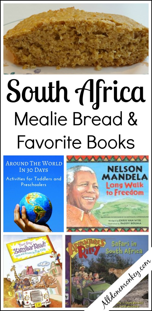 South Africa: Mealie Bread Recipe and Favorite Books | Alldonemonkey.com