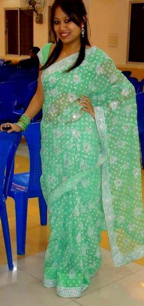 Girl in a sari