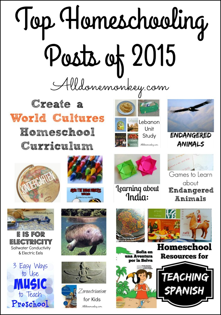 Our top homeschooling posts from 2015