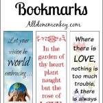 Printable Bookmarks for Ayyam-i-Ha