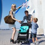 Great New Stroller for Family Travel