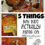 Sibling Bonding: 5 Things My Kids Actually Agree On