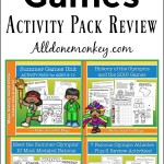 Summer Games Activity Pack Review