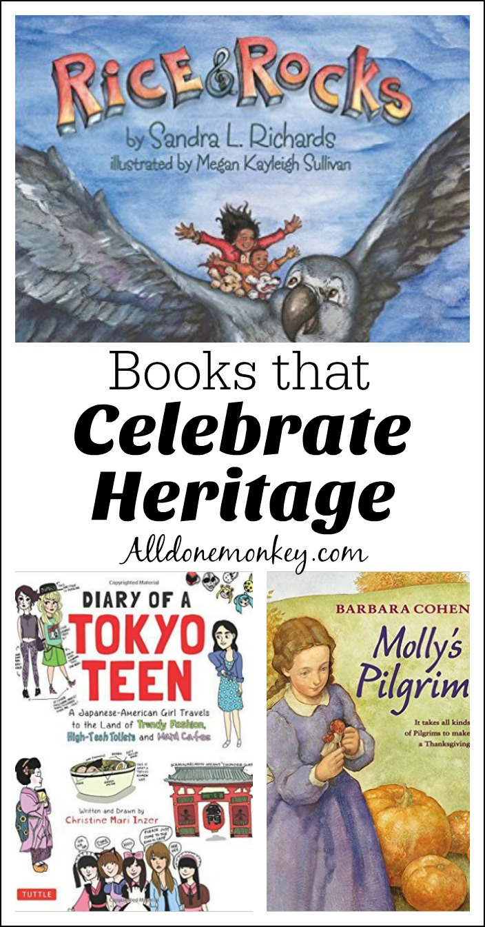 Picture books and a graphic novel that help children and teens celebrate their unique heritage.