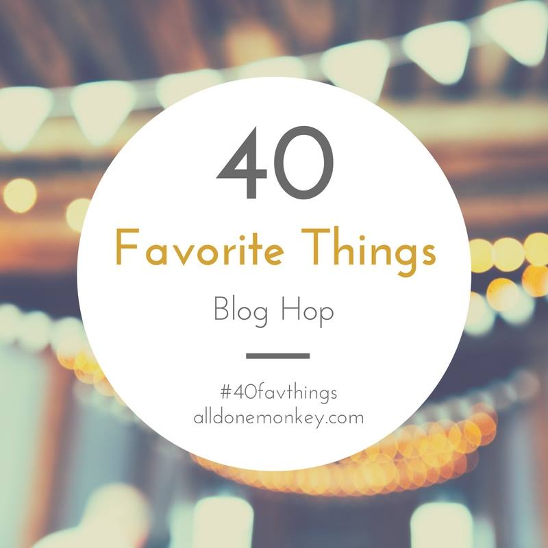Bloggers share their lists of 40 favorite things