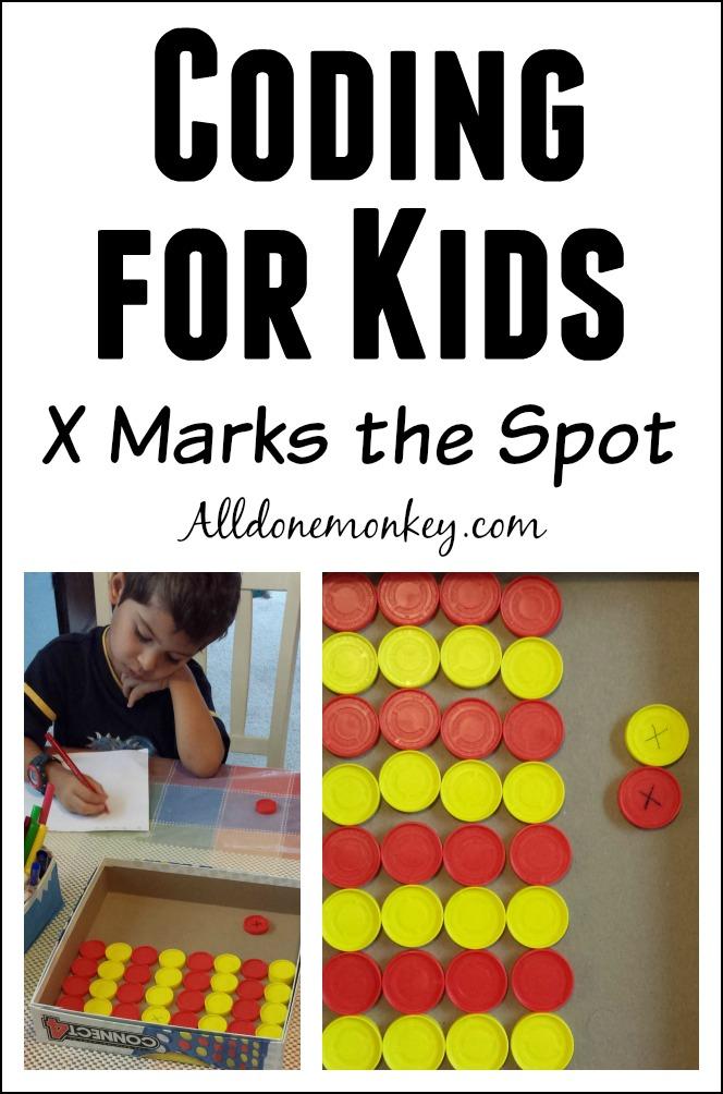 Coding for Kids: X Marks the Spot   Alldonemonkey.com