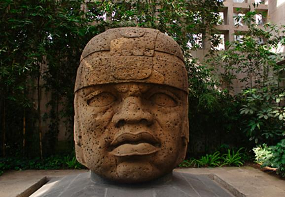 Olmec Stone Head, Xalapa Museum