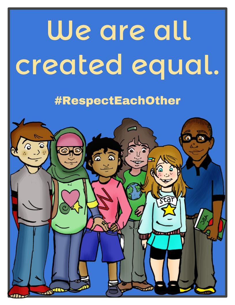 #RespectEachOther Anti-Bullying Resource