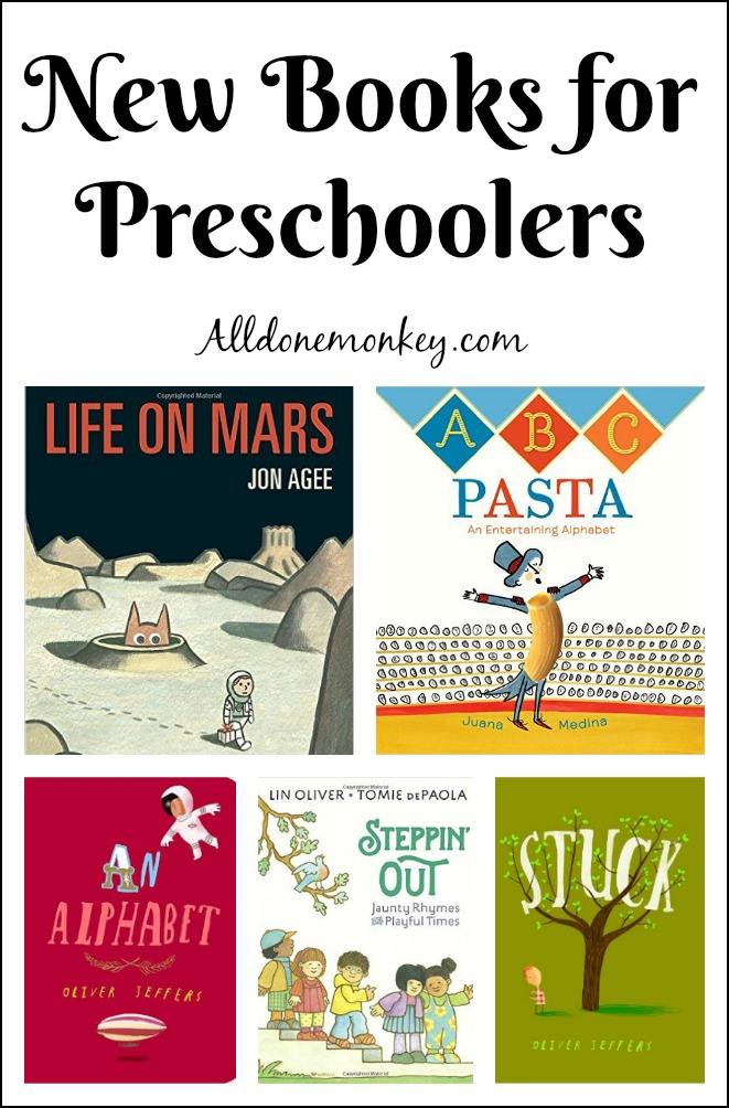New Books for Preschoolers | Alldonemonkey.com