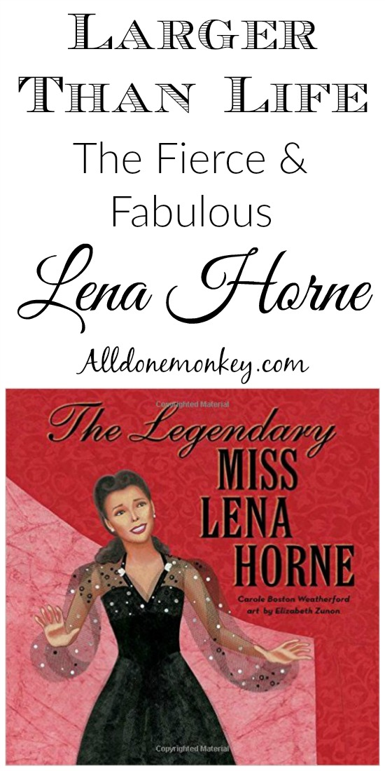Author Carole Boston Weatherford reflects on the life of Lena Horne and her new biography of this legendary figure