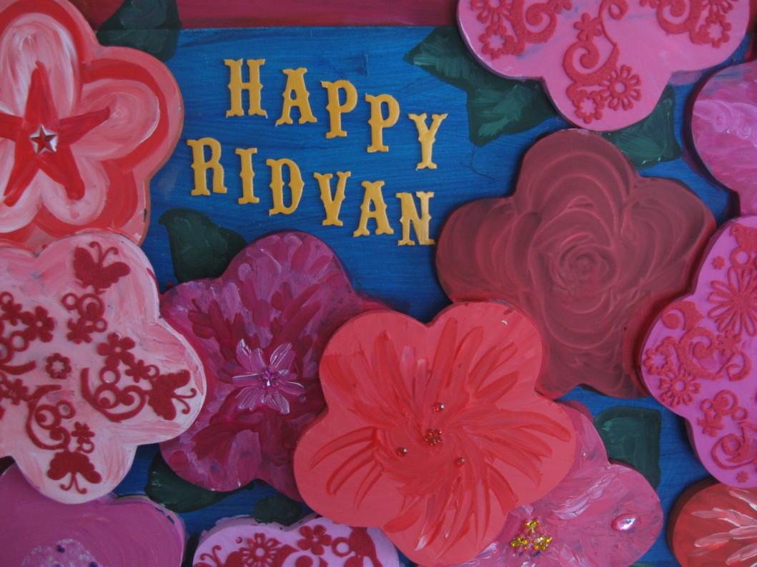 Ridvan Flower Board | Alldonemonkey.com