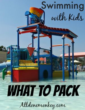 Swimming with Kids: What to Pack