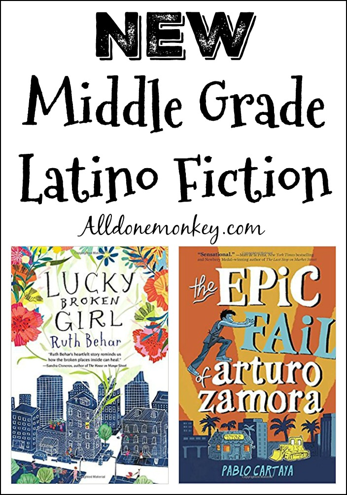 New Middle Grade Latino Fiction | Alldonemonkey.com