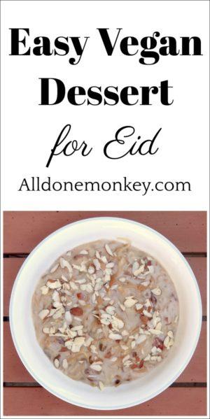 Easy Vegan Dessert for Eid Your Family Will Love