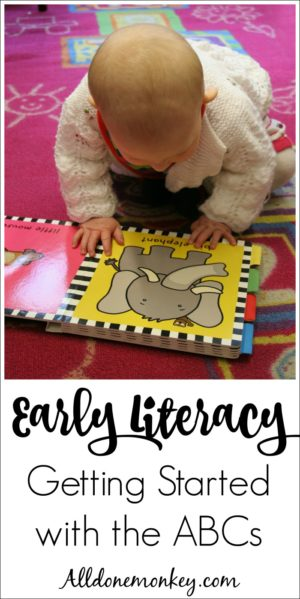 Early Literacy: Getting Started Teaching the Alphabet