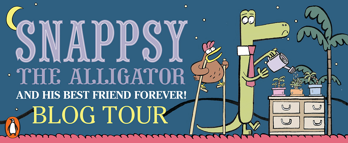 Snappsy the Alligator Blog Tour