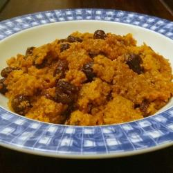 Haiti Christmas Treat: Sweet Potato Pudding