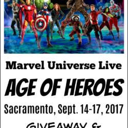 Marvel Universe Live Age of Heroes Giveaway & Coloring Page