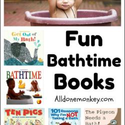 Fun Bathtime Books Your Child Will Love