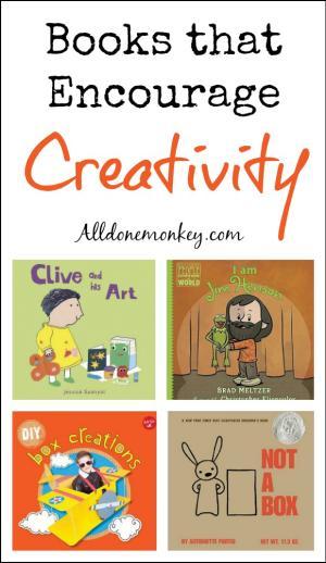 Books that Encourage Creativity