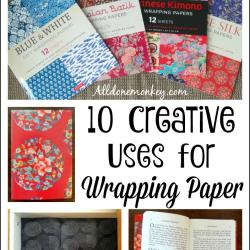 10 Creative Uses for Wrapping Paper