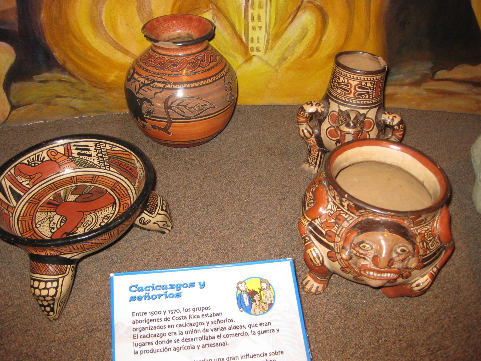 Indigenous Pottery, Children's Museum, Costa Rica